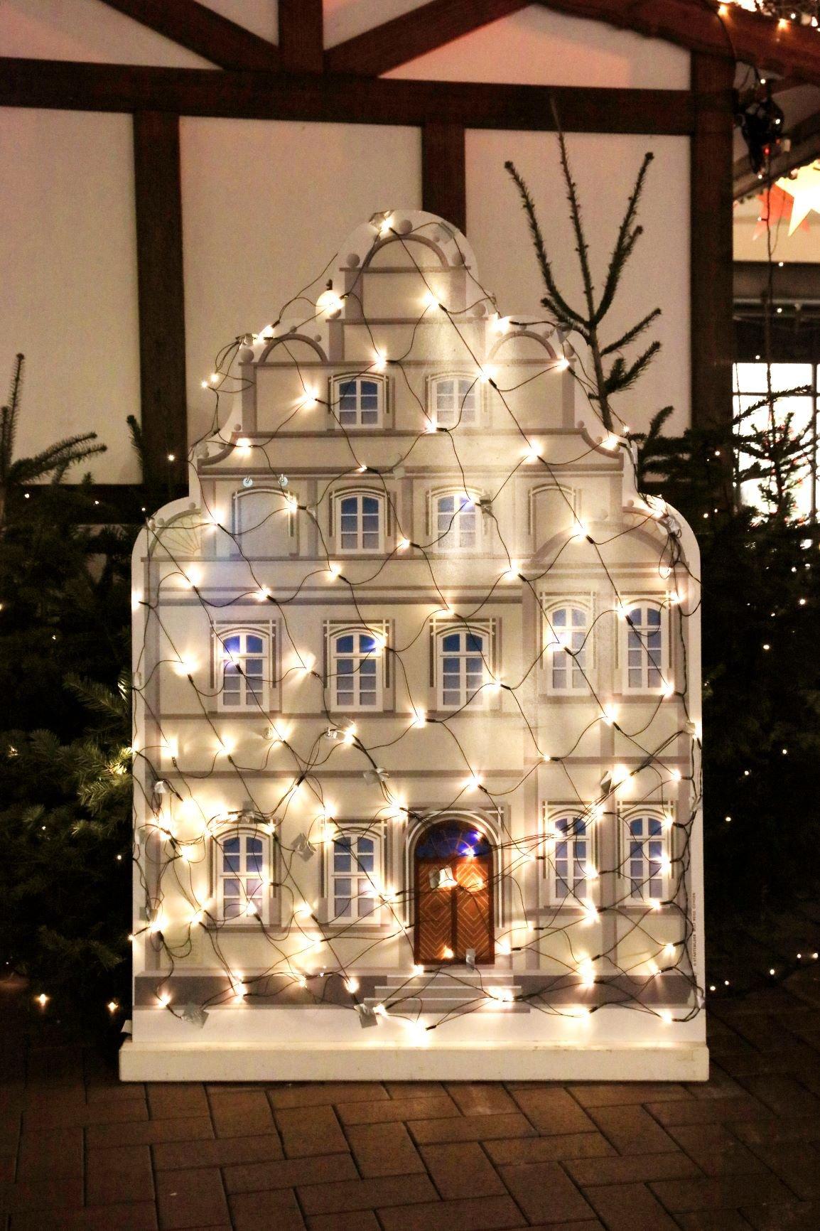 Beleuchtetes Kavalierhaus